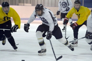 The hockey team opens it second season on Sept. 28. COURTESY PHOTO.