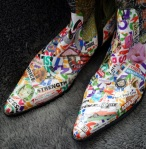 Decoupage Boot by Terry Blodgett