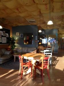 Inside Kaya Coffee House
