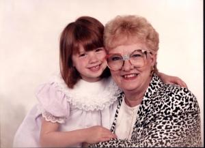 Elizabeth and GJoy circa 1987