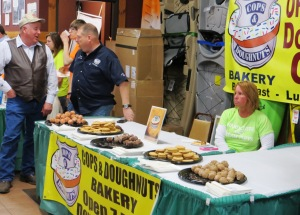 Cops and Doughnuts was one of many food vendors (Laker Current photo)