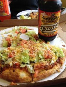 Country Corner's Taco Pizza