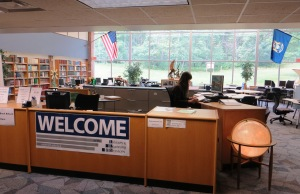 Harrison Library has combined related student services
