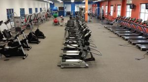 Premiere fitness equipment at Morey Courts