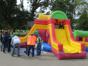Activities and games were plentiful for the younger set