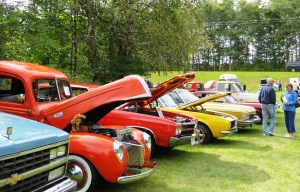 More than 60 classic cars on display