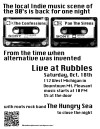 1980′s indie groups reunite Saturday at Rubbles