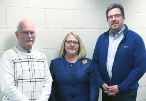 (L to R) Douglas Jacobson, Pam Mayfield and Eric Kreckman
