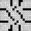 The Oscars crossword puzzle solution