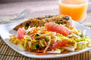 Jicama and Grapefruit Salad