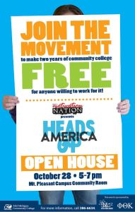 heads up poster