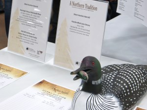 A silent auction featured art work, gifts and activities to the highest bidder