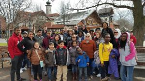 PTK hosts international students in Frankenmuth